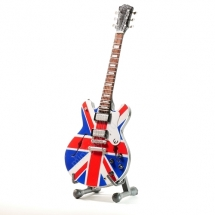 Мини гитара Epiphone - Sheraton - Union Jack - Noell Gallagher (Oasis)